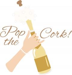 Pop The Cork Print Art