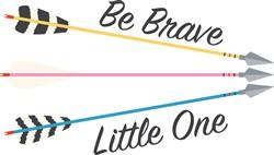 Be Brave Print Art
