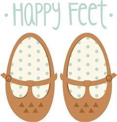Happy Feet Print Art