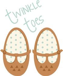 Twinkle Toes Print Art