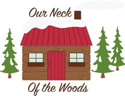 Log Cabin Woods Print Art