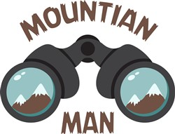 Mountain Man Print Art