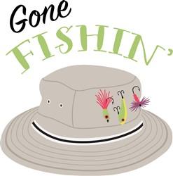 Gone Fishing Print Art