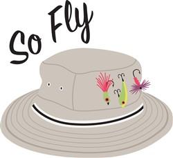 So Fly Hat Print Art