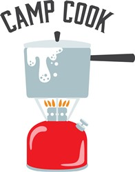 Camp Cook Print Art