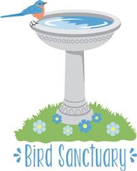 Bird Sanctuary Print Art