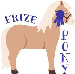 Prize Pony Print Art
