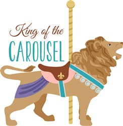 Carousel King Print Art