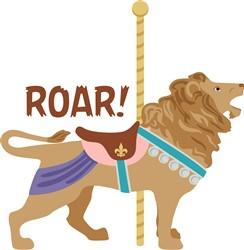 Lion Roar Print Art