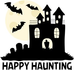 Happy Haunting Print Art