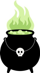 Witch Cauldron Print Art