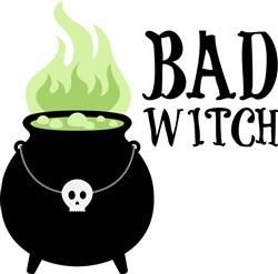 Bad Witch Print Art
