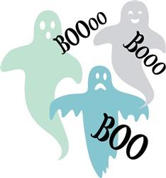 Ghosts Boo Print Art