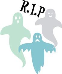 Ghosts RIP Print Art