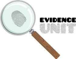 Evidence Unit Print Art