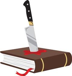 Murder Mystery Novel Print Art