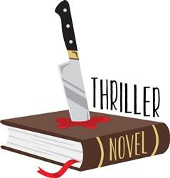 Thriller Novel Print Art