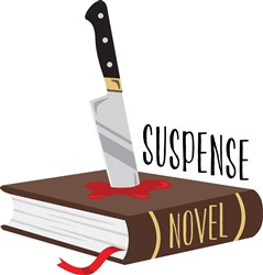 Suspense Novel Print Art