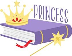 Princess Book Print Art