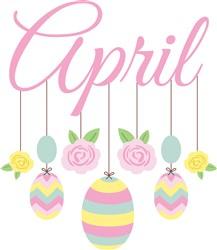 April Mobile Print Art