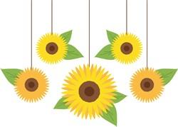 Sunflower Mobile Print Art