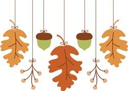 Fall Leaves Print Art