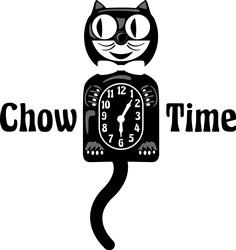Chow Time Print Art