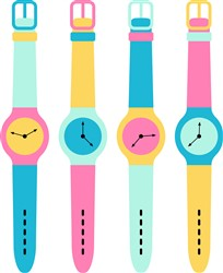 Wrist Watches Print Art