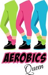 Aerobics Queen Print Art