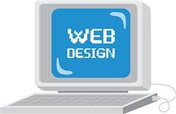Computer Web Design Print Art