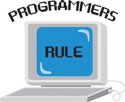 Programmers Rule Print Art
