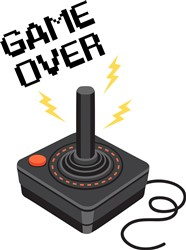 Game Over Print Art