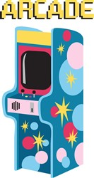Arcade Games Print Art