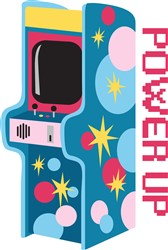 Arcade Power Up Print Art
