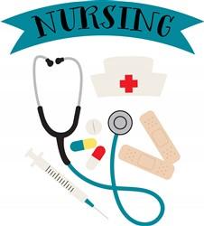 Nursing Print Art