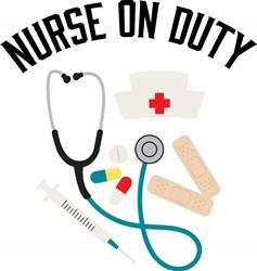 Nurse On Duty Print Art