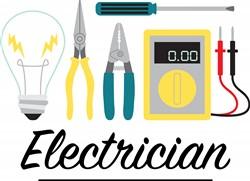 Electrician Print Art
