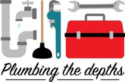 Plumbing The Depths Print Art