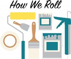 How We Roll Print Art