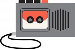Tape Recorder Print Art