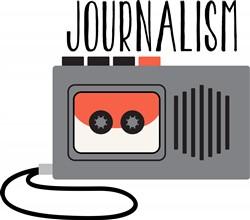 Journalism Recorder Print Art