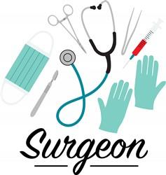 Surgeon Print Art