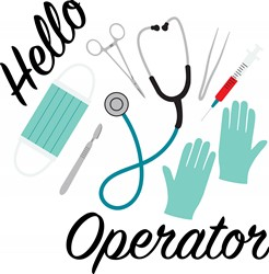 Hello Operator Print Art