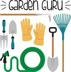 Garden Guru Print Art