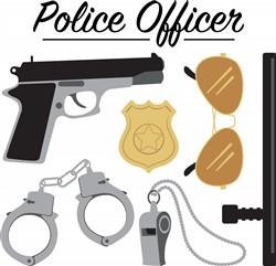 Police Officer Print Art