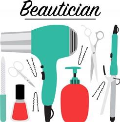 Beautician Print Art