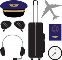 Pilot Items Print Art