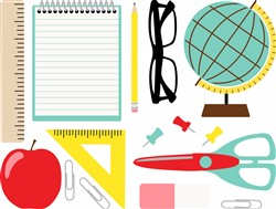 Teacher Supplies Print Art