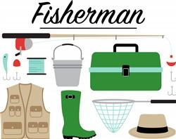 Fisherman Print Art