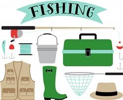 Fishing Print Art